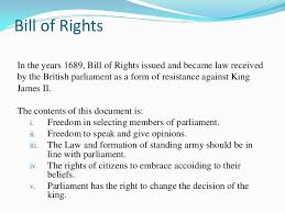 bill of rights ppt concept and theory of human right group 12