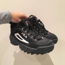 fila disruptor 2 womens. fila disruptor ii size eu41~~ fit womens 8/9~~~~only worn a couple of times selling bc i don\u0027t wear leather anymore! also have the same shoe in white 2
