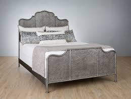 Wesley Allen Abington Iron Bed with Metal Profile