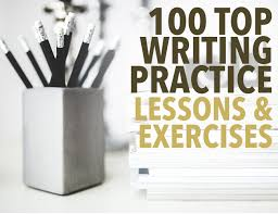 writing practice lessons exercises 100 top writing practice lessons and exercises