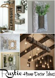 Rustic Home Decor Ideas via Refresh Restyle