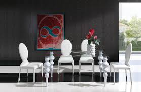 astonishing modern dining room sets:  glass top white legs modern dining table woptions formal dining room sets glass top astonishing formal