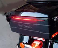 biker leds a 14 7in flexible led array 115 red leds for the tour pak as a additional brake light just a two wire installation