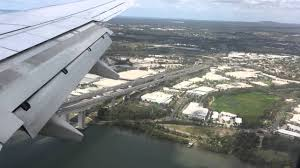 Landing at Brisbane Airport (BNE), 08 ...