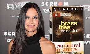 So Thats How Her Hair Always Looks So Good Courteney Cox