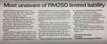 We did not find results for: Did You Know That Your Credit Card Liability Is Only Rm250 If Your Credit Card Is Stolen Weehingthong