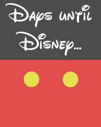 Disney Vacation Countdown Calendar | Calendar 2018 Printable