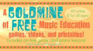 Lady Create-a-lot: A GOLDMINE of FREE Online Music Education games ...