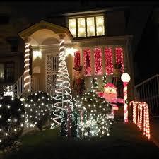Blue White Outdoor Christmas Lights 110v 240v Led Rope Christmas Lights 7m 50 Ledsyellow White