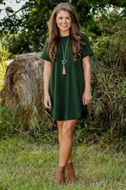 Olive Green T Shirt Dress Naf Dresses