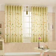 Gray and White Chain Pattern Blackout Window Curtain