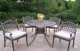 modern patio and furniture medium size patio table and chairs metal outdoor set clearance outdoor