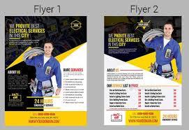 Services Flyer 60 Service Flyer Designs Word Psd Ai Vector Eps Design