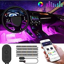 <b>Car LED</b> Strip <b>Lights</b> by APP Control, Govee 48 <b>LED Car Interior</b> ...