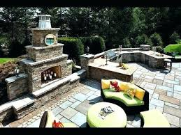 diy patio fireplace patio fireplace butler stone
