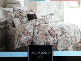 cynthia rowley duvet cover aqua lime green peach paisley king duvet shams regarding comforter sets king