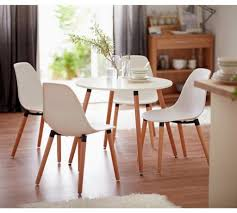round dining room table and 4 chairs vanity home berlin round dining table 4 chairs white at argos co designs