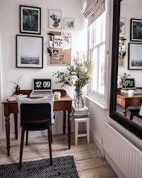 chic home office design home office. Cozy Cottage-chic Home Office Design | NONAGON.style Chic