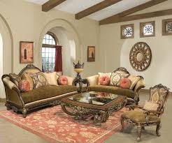 Italian Living Room Furniture Sets Benettis Italia Francesca Luxury Living Set
