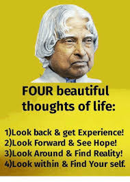 FOUR Beautiful Thoughts Of Life 40Look Back Get Experience 40Look Amazing Beautiful Thoughts