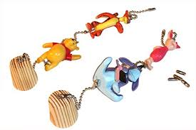 winnie the pooh ceiling fan pull eeyore tigger piglet nursery decor all 4 on 2 chains