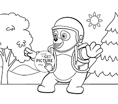 Small Picture OSO coloring pages for kids printable free Special agent OSO
