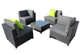 outdoor furniture set legian wicker rattan sofa lounge
