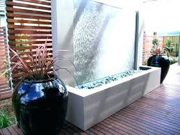 wall art water feature how to build a water wall outdoor fountain water wall build outdoor