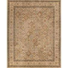 linden ivory 7 ft x indoor area rug by 10 rugs pad n