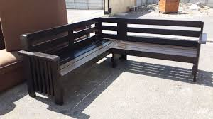 l shape garden benches l shped benches