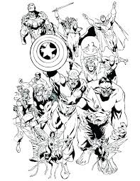 Coloring Pages The Avengers Free Infinity War Jordanschleiderinfo