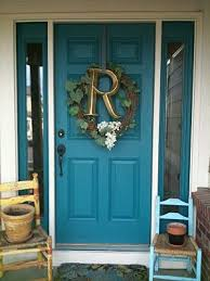 Turquoise front door Benjamin Moore Turquoise Front Doorabsolutely Love It This One Is Benjamin Moore Largo Teal Will Be Painting Our Front Door Turquoise Come Fall Pinterest Turquoise Front Doorabsolutely Love It This One Is Benjamin
