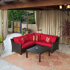furniture for small patio. Peachy Design Small Patio Sectional Outdoor E36qp9i Cnxconsortium Org In Furniture For E