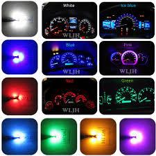 2002 Accord Clock Light Bulb Us 7 99 20 Off Wljh 6x Led T5 Pc74 Socket Lamp Car Dashboard Instrument Panel Light Bulb For Honda Accord Civic Cr V Crx Odyssey Prelude S2000 In