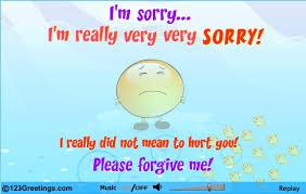 i m sorry please forgive me my friend