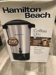 Related manuals for hamilton beach hcu045s. Hamilton Beach 40515r 45 Cup Coffee Urn Silver 43 99 Picclick