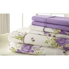 cotton polyester sheets.  Sheets Hyacinthe Polyester Sheet Set And Cotton Sheets O