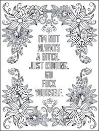 Make your world more colorful with printable coloring pages from crayola. Pin On Free Printable Swear Word Adult Coloring Pages