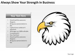 bald eagle template eagle powerpoint templates slides and graphics