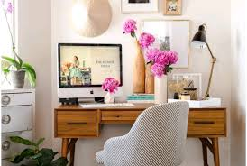 colorful home office. pretty colorful mid century home office m