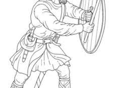 Viking Dot To Dot Archives How Coloring Pages