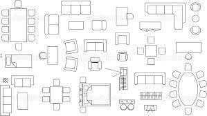 floor plan symbols. Floor Plan Furniture Symbols Placement Tool .
