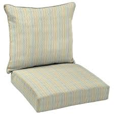 deep seat outdoor cushions clearance bay ticking stripe piece deep seating outdoor lounge chair seat ions