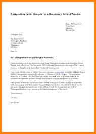 6 Sample Resignation Letter For Teacher Letter Envelope