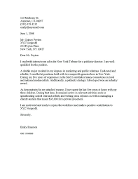 Collection Of Solutions Cover Letter Example For No Work Experience
