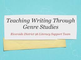 Teaching Writing Through Genre Studies