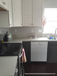 Alabaster White Kitchen Cabinets Urbane Bronze Alabaster Kitchen Redo Evolution Of Style