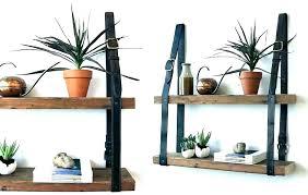 hanging rope shelf diy wall shelves ideas saving floor space stylish dec hanging rope shelf