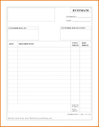 Labor Invoice Template Word Unique Estimate Invoice Template Work ...