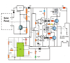 led street light circuit diagram info automatic 40 watt led solar street light circuit project part 1 wiring circuit
